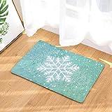 Startview Christmas Floor Mats, Non Slip Door Floor Mats Hall Rugs Kitchen Bathroom Carpet Decor (C)
