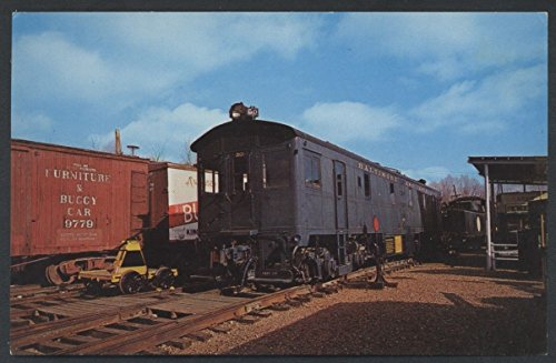 Trains Pedal (Baltimore Ohio 50 Train Diesel Electric Locomotive Pedal Car Railroad Postcard)