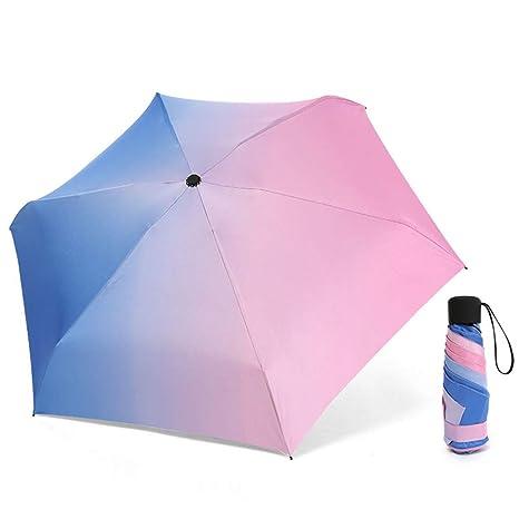 LYJZH Paraguas Plegable para Viajes,Paraguas de Secado ...