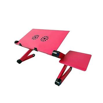 kuuboo plegable para ordenador portátil soporte de mesa escritorio bandeja con ratón Junta y doble (