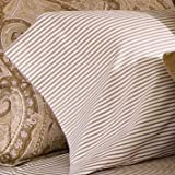 Lauren Ralph Lauren Desert Spa Bengal Stripe King Flat Sheet