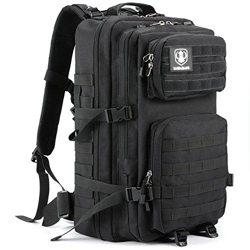 Gonex 35L taktischer Rucksack, Barbarians Molle Tasche Militärischer Assault Rucksack für Outdoor Wandern Camping