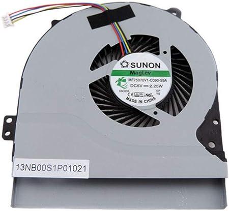 Version 1 Fan Cooler Compatible with ASUS X550 X550CC X550CL X550EP X550EA X550J X550JK X550LA X550E X550JD X550JX X550C