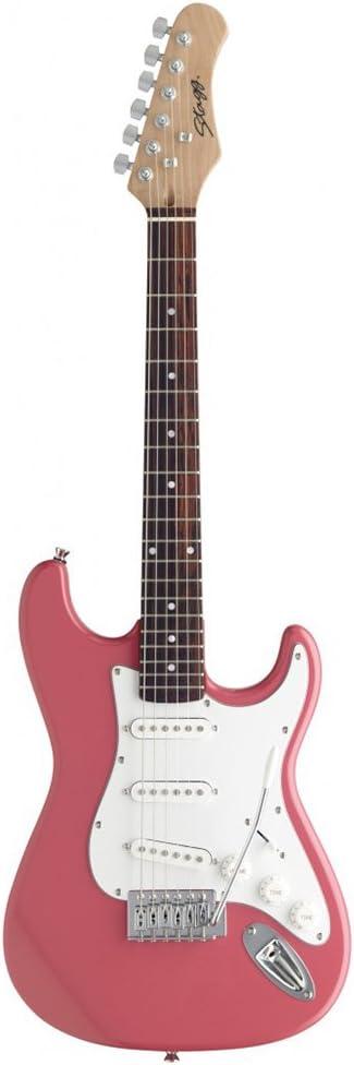 Stagg S300 3.4 Guitarra eléctrica - Rosa: Amazon.es: Instrumentos ...