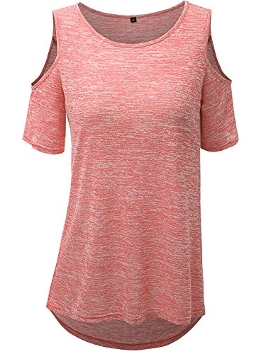 coral tops for women - 9