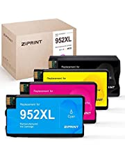 $29 » ZIPRINT Remanufactured Ink Cartridge Replacement for HP 952 952XL 952 XL for HP OfficeJet Pro 8710 8720 8702 8715 7740 7720 8210 8730 8216 8725 Printer (Black Cyan Magenta Yellow, 4-Pack)
