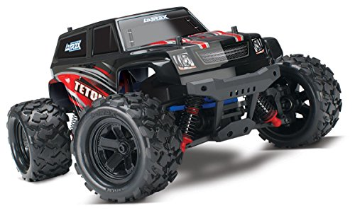 Traxxas Latrax Teton: 1 18 Scale 4wd Electric Monster Truck with TQ 2.4 GHz Radio System - Red