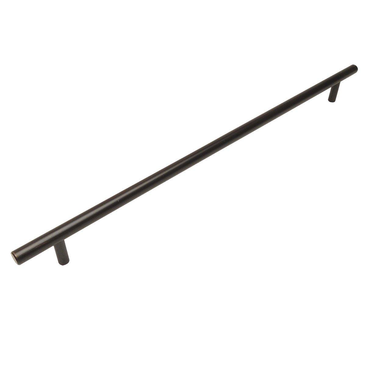 "*5 Pack* Slim 3//8/"" Diameter Cosmas Oil Rubbed Bronze Euro Bar Pull 404-3.5ORB"