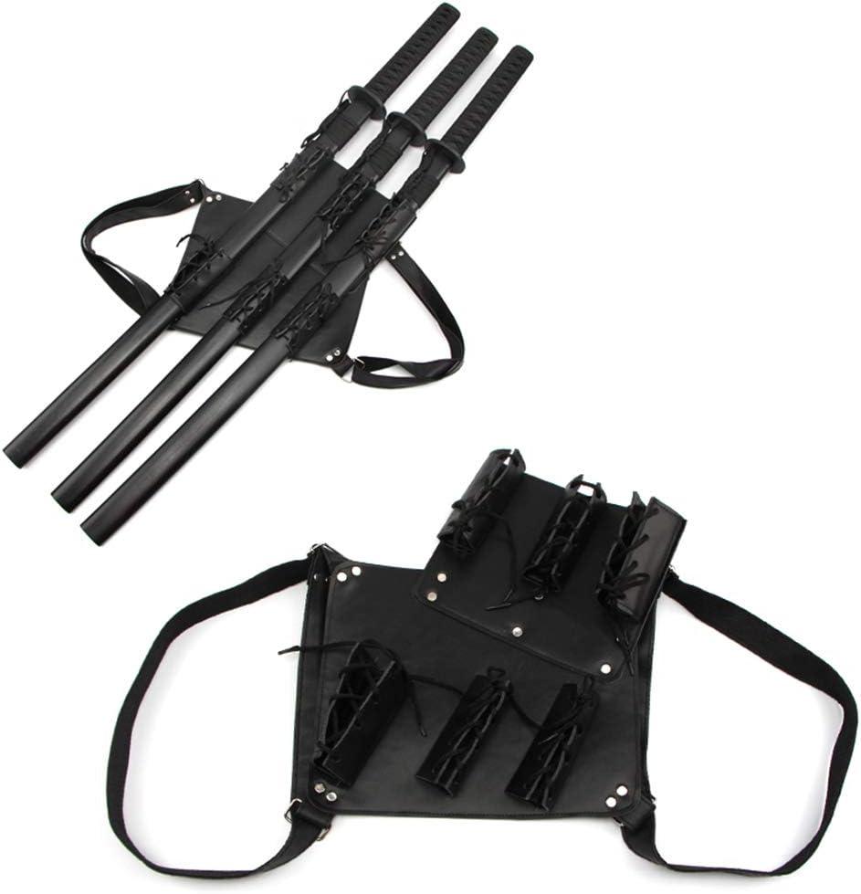Fclieng Bolsa de Espada Artes Marciales Espada Estuche de Transporte Correa Trasera Cintura para Ninja Hero Cosplay Anime Traje Armas Bolsa-3 Tier: Amazon.es: Hogar