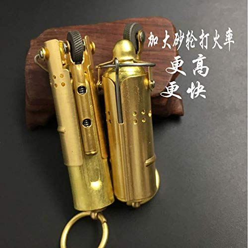 Trench Lighter Replica - Solid Brass- WWI - WWII - Vintage Style 2 Pack