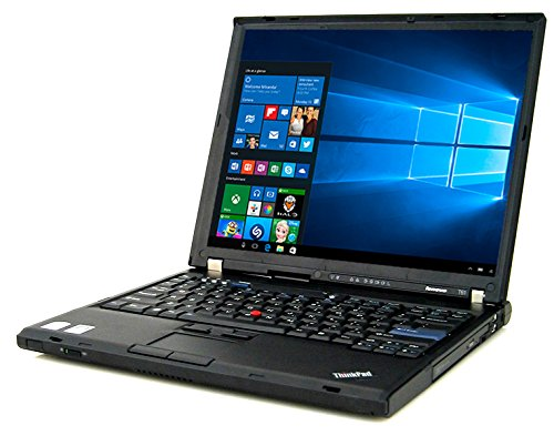 Lenovo ThinkPad T61 Laptop C2D 2.0GHz - 2GB DDR2 - 80GB HDD - DVD+CDRW - Windows 10 Home 32bit - (Renewed)