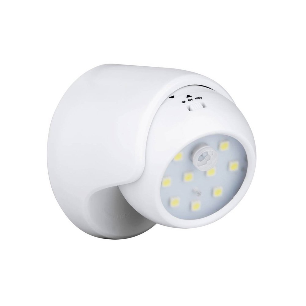 Enjoydeal PIR Motion Sensor Night Light,9 LED Battery Operated 360° Auto On/Off 3 Modes Wireless Security Light Lamp for Home,Indoor ,Outdoor, Driveway,Garden ,Patio,Pathway
