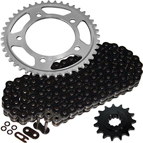 - Caltric Black O-Ring Drive Chain & Sprockets Kit Fits HONDA CBR600F3 CBR-600F3 CBR600 F3 1997 1998