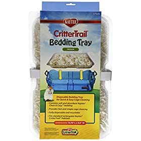 Kaytee Critter Trail Bedding Tray Habitat - 3/Pack
