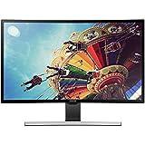 """Samsung T27D590CX Monitor da 27"""", Curvo, Nero"""