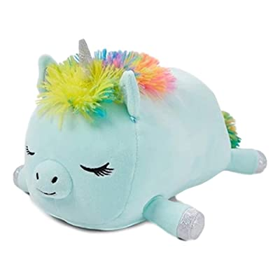 """Squishmallow Mini Stuffed Animal for Girls - Crystal the Unicorn - Cute Small Plush Pillow - 10"""" Tall in Blue: Toys & Games"""