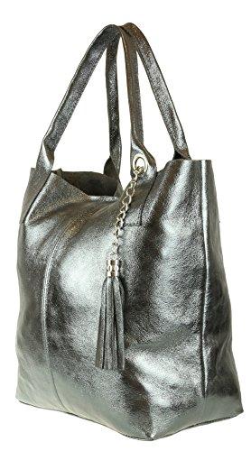 Mujer Girly Al Hombro Bolso Sintético Handbags Para Gris De Material 8rxp8qwO