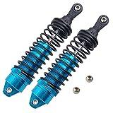 RC SLA014 Blue Alum Front Shock Absorber 90mm For Traxxas Slash Short Truck