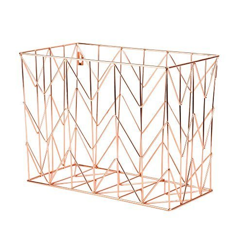 Gold And Rose Gold Desk Accessories And Feminine Office