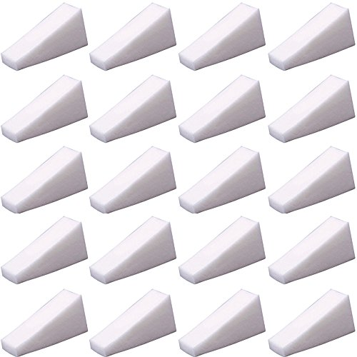 Polytree 32pcs Gradient Nails Soft Sponges for Color Fade Manicure Nail Art Accessories