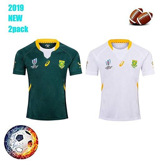 ZSDFGH CBsports Equipo Sudáfrica,Rugby Jersey, Springboks,Copa ...