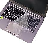 """CaseBuy Ultra Thin TPU Keyboard Cover for 13.3"""" ASUS ZenBook UX303LB UX303LN UX303UA UX303UB UX305FA UX305LA UX306UA UX310UA UX330UA UX330CA UX360CA UX360UA Q302LA Q302UA Q304UA Q324UA"""