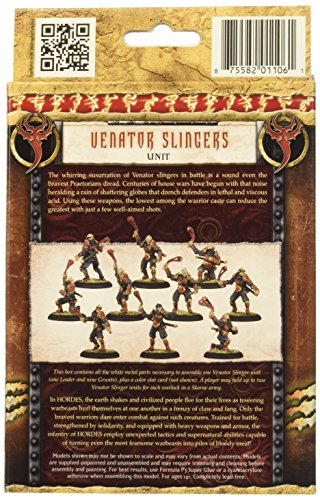 Privateer Press - Hordes - Skorne: Venator Slingers Unit Model Kit 4