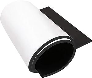 Dualplex Neoprene Sponge Foam Rubber Roll Adhesive, 15X60 Inches X 1/4
