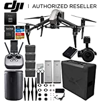 DJI Inspire 2 Quadcopter (CinemaDNG and Apple ProRes Licenses Included) with Zenmuse X5S + DJI CINESSD (240GB) + CINESSD Station Bundle