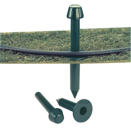 Hose Guide Spike - Dramm 13001 Premium Garden Gard Hose Spike - Green