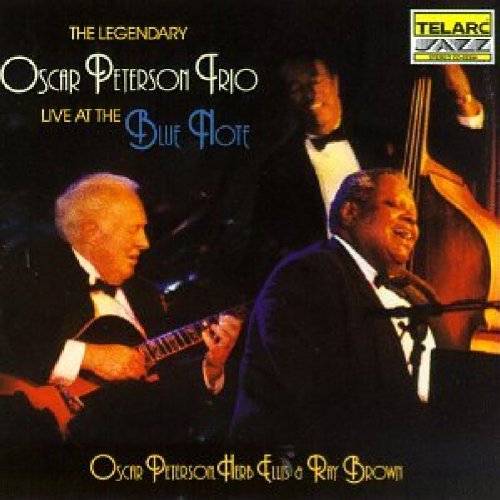 The Legendary Oscar Peterson Trio Live at The Blue Note by Telarc