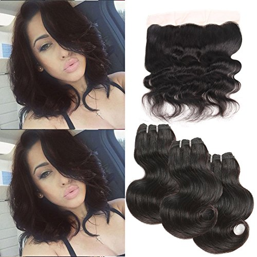 Urbeauty Hair Brazilian Virgin Hair Body Wave With Lace