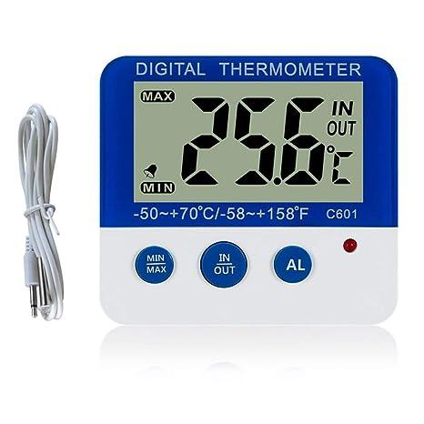 IW.HLMF Congelador Digital/Frigorífico termómetro con imán y ...