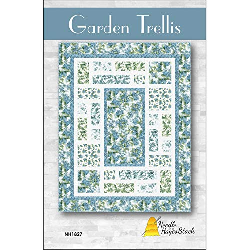 (Pattern~Garden Trellis Quilt Pattern 70