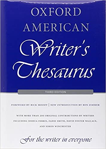 Oxford American Writer's Thesaurus, 3rd Edition - Original PDF