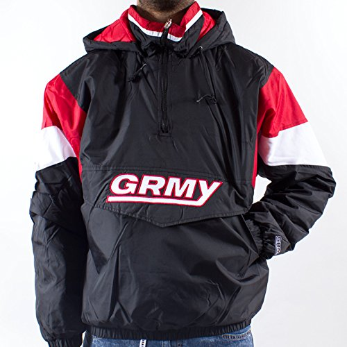Grimey Chaqueta GRMY Vintage FW14 Black: Amazon.es: Ropa y ...