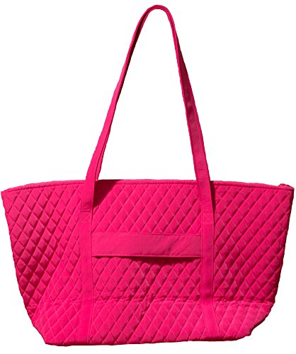 Viaggio Da Interior Vera Bradley With Fuchsia Bag Donna Tote Miller Solid qwFIF7X