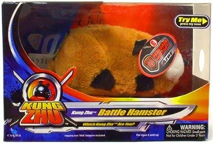 Amazon.com: Kung Zhu Ninja Guerrero Batalla hampster Azer ...