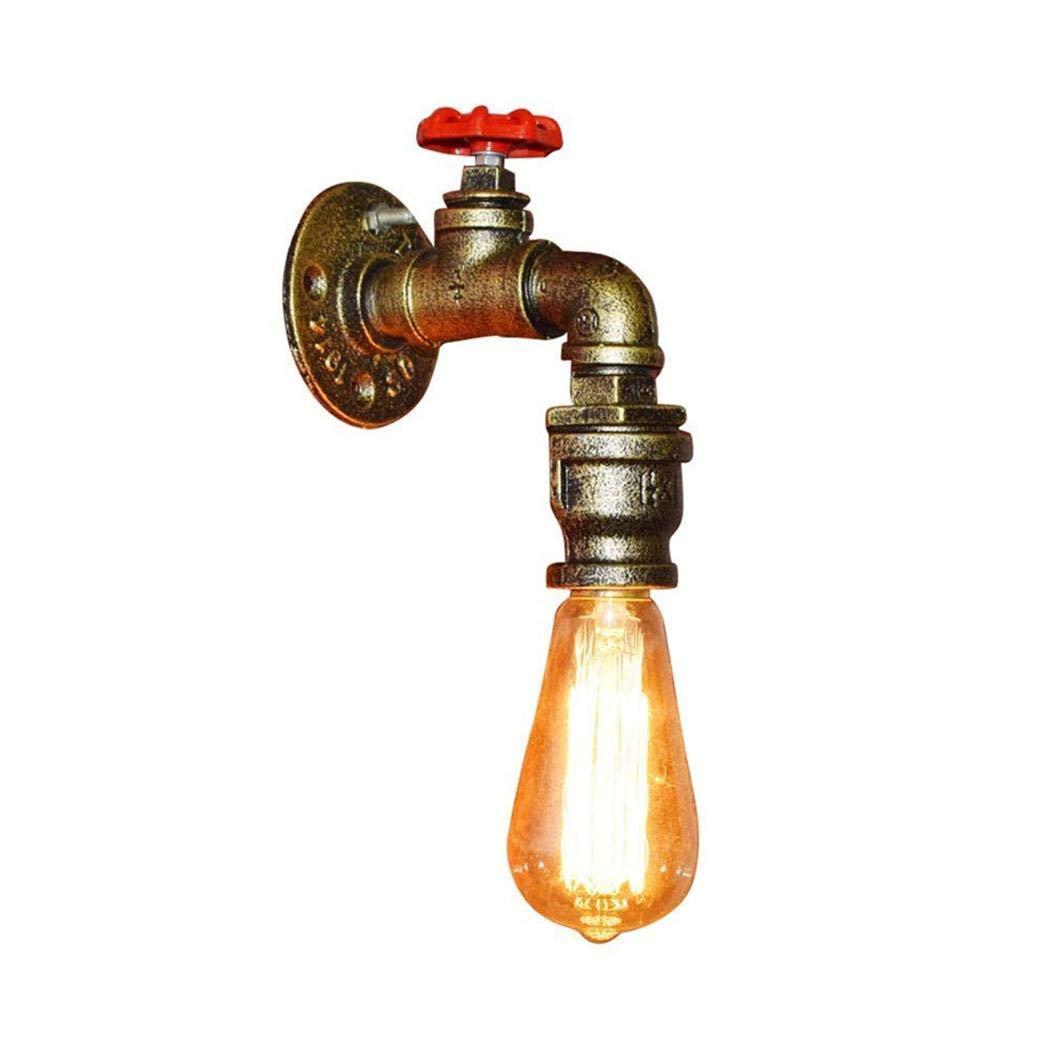 ● Industrielle Wandlampe Vintage Design Loft Retro Sconce schöne Wandleuchte E27 Edison Lampe Regenschirm schwarz Metal Dekoration E27 Edison Wandleuchten Innen für Restaurant Bar Korridor Max. 40W ●