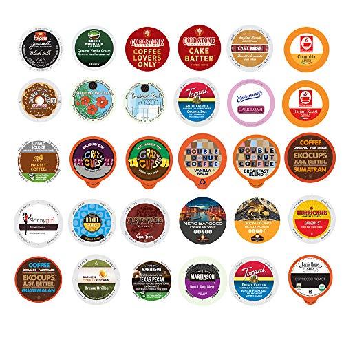 Coffee Variety Sampler Pack for Keurig K-Cup Brewers (Premium Coffee, 30)