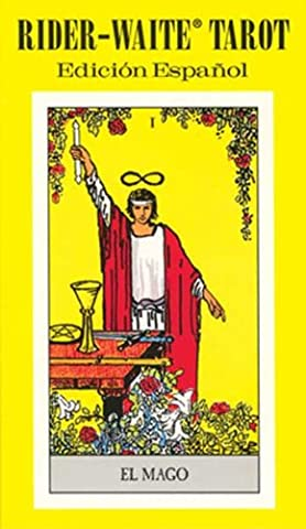 Fortune Telling Tarot Cards Rider-Waite Spanish tarot deck by Pamela Colman Smith (Spanish Cards Tarot)