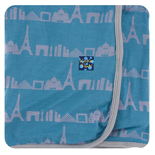 KicKee Pants Swaddling Blanket Parisian Skyline