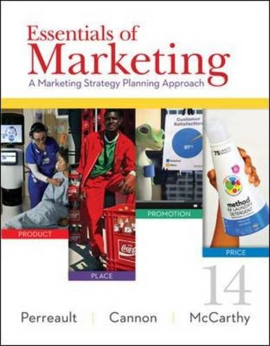 Essentials of Marketing: A Marketing Strategy Planning Approach, 14th Edition Front Cover
