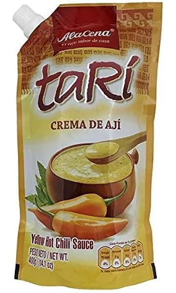 Alacena Crema De Aji Tari / Peruvian Sauce 400 Gr. Family Size