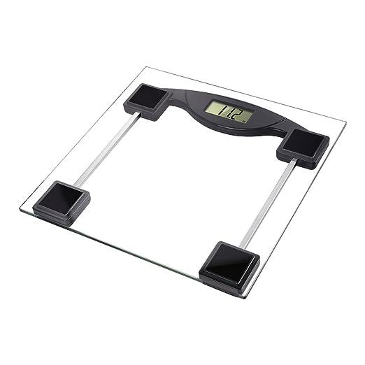 T-LoVendo TLV-B1 Bascula de Baño Digital Cuadrada Transparente Cristal Precision 180 Kg, 30 x 30 x 30 cm: Amazon.es: Bricolaje y herramientas
