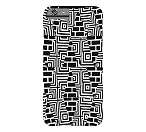 AbstractPattern iPhone 6 Plus Black Barely There Phone Case - Design By FSKcase?