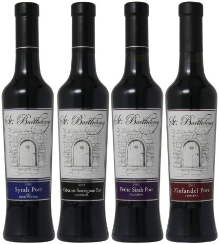 St. Barthelemy Cellars Chocolate Lovers Port Mixed Pack, 4 x 375 mL