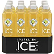 Sparkling Ice Ginger Lime Sparkling Water, 17 Fluid Ounce -- 12 per case.
