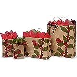 Red Bird Berries Shopping Bag Assortment - 375 Pieces