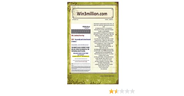 Win3million roulette online virtual gambling